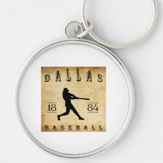 1884 Dallas Texas Baseball Keychain
