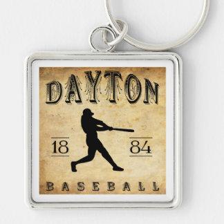 1884 Dayton Ohio Baseball Keychain