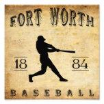 1884 Fort Worth Texas Baseball Photo Print