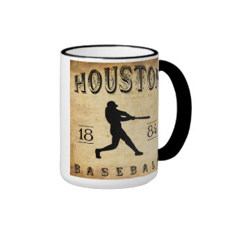 1884 Houston Texas Baseball Coffee Mug