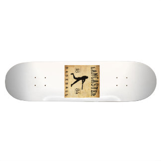 1884 Lancaster Pennsylvania Baseball Skate Board Deck