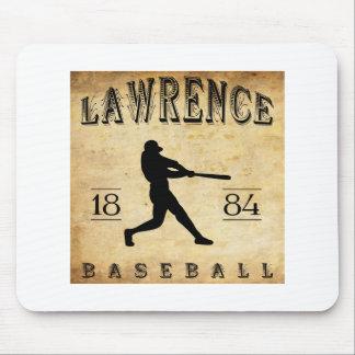 1884 Lawrence Massachusetts Baseball Mouse Pad