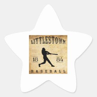 1884 Littlestown Pennsylvania Baseball Star Sticker