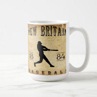1884 New Britain Connecticut Baseball Coffee Mug