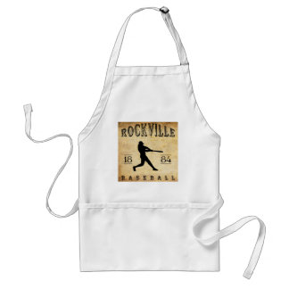 1884 Rockville Connecticut Baseball Adult Apron