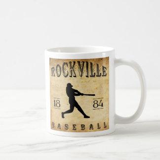 1884 Rockville Connecticut Baseball Coffee Mug