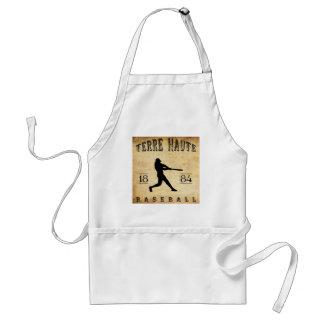1884 Terre Haute Indiana Baseball Adult Apron