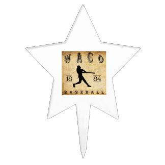 1884 Waco Texas Baseball Cake Toppers