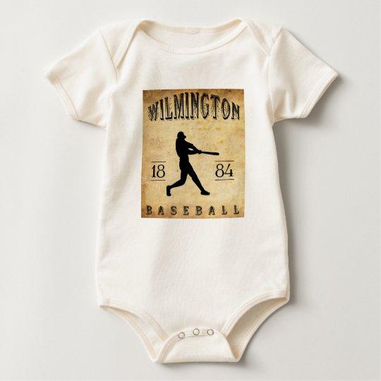 1884 Wilmington Delaware Baseball Baby Bodysuit