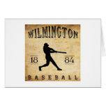 1884 Wilmington Delaware Baseball Greeting Card