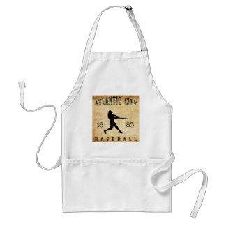 1885 Atlantic City New Jersey Baseball Aprons