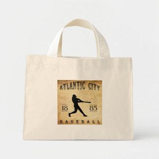 1885 Atlantic City New Jersey Baseball Mini Tote Bag