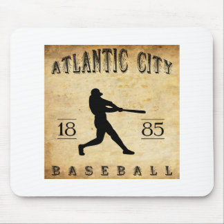 1885 Atlantic City New Jersey Baseball Mouse Pad
