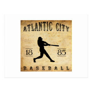 1885 Atlantic City New Jersey Baseball Postcard