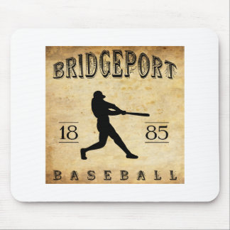 1885 Bridgeport Connecticut Baseball Mouse Pads