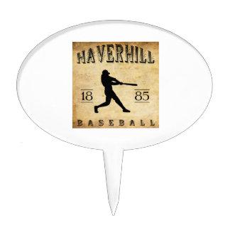 1885 Haverhill Massachusetts Baseball Cake Toppers
