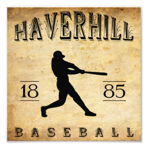 1885 Haverhill Massachusetts Baseball Photograph