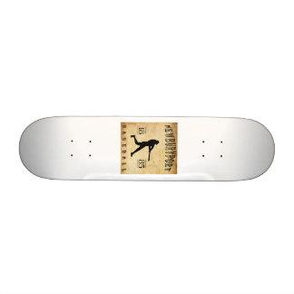 1885 Newburyport Massachusetts Baseball Custom Skate Board