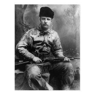 1885 Theodore Roosevelt Postcard