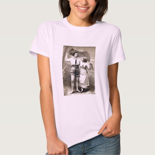 1885 Young Couple in Love T-Shirt