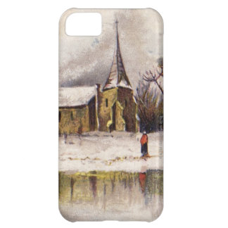 1886: A snowy Victorian winter scene Cover For iPhone 5C