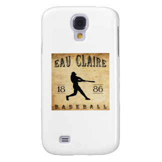 1886 Eau Claire Wisconsin Baseball Samsung Galaxy S4 Cover