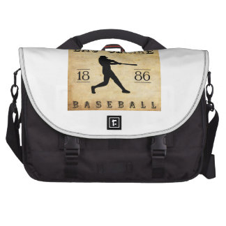1886 Eau Claire Wisconsin Baseball Commuter Bags