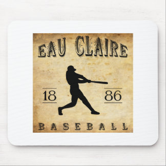 1886 Eau Claire Wisconsin Baseball Mouse Pad