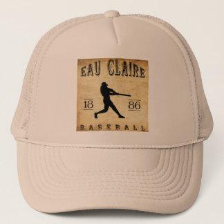 1886 Eau Claire Wisconsin Baseball Trucker Hat