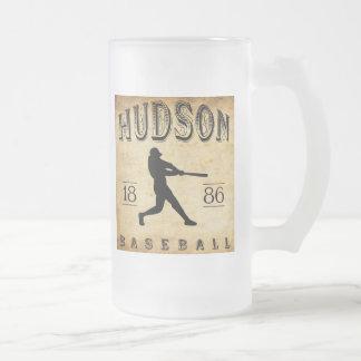 1886 Hudson New York Baseball Coffee Mugs