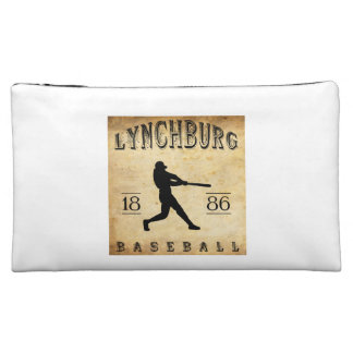 1886 Lynchburg Virginia Baseball Makeup Bags