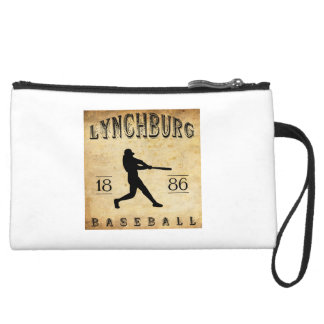 1886 Lynchburg Virginia Baseball Wristlet Purse