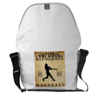 1886 Lynchburg Virginia Baseball Messenger Bag