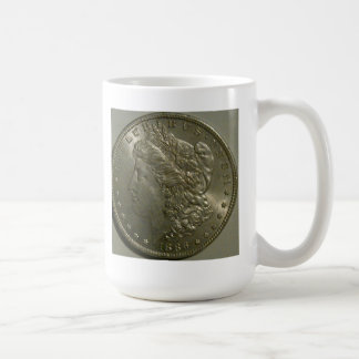 1886 Morgan Silver Dollar Mug