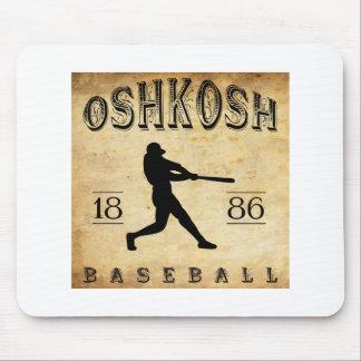 1886 Oshkosh Wisconsin Baseball Mouse Pad
