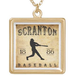 1886 Scranton Pennsylvania Baseball Jewelry