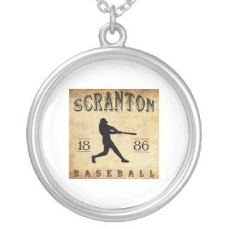 1886 Scranton Pennsylvania Baseball Pendants