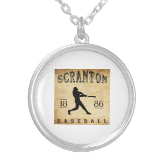 1886 Scranton Pennsylvania Baseball Necklaces