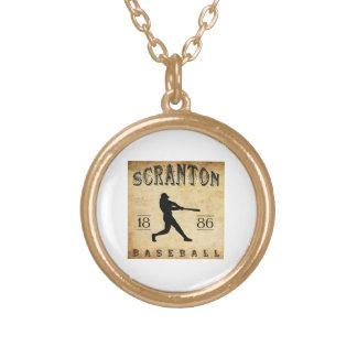 1886 Scranton Pennsylvania Baseball Custom Jewelry
