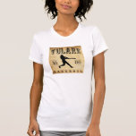 1886 Tulare California Baseball Shirts
