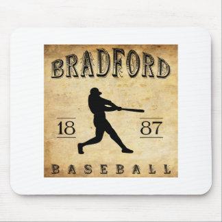1887 Bradford Pennsylvania Baseball Mouse Pad