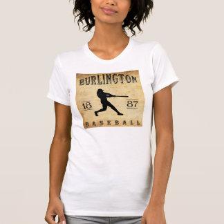 1887 Burlington Vermont Baseball Tee Shirt