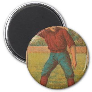 1887 Curt Welch 2 Inch Round Magnet