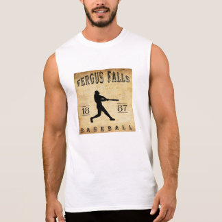 1887 Fergus Falls Minnesota Baseball Sleeveless Shirt