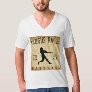 1887 Fergus Falls Minnesota Baseball T-Shirt