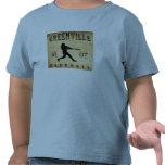 1887 Greenville Michigan Baseball T Shirts