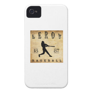 1887 Leroy New York Baseball Case-Mate iPhone 4 Case