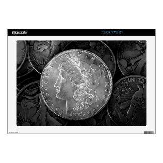1887 Liberty Silver Dollar Laptop Decal