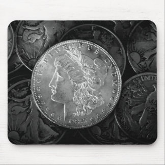 1887 Liberty Silver Dollar Mouse Pad