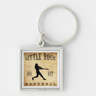 1887 Little Rock Arkansas Baseball Keychain